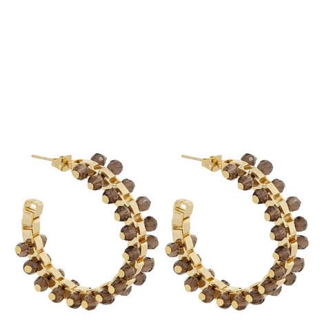 Airone Hoop Earrings, ${color}