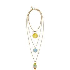 Layered Amulet Necklace