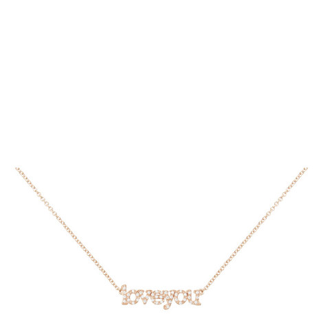 Love You Necklace, ${color}