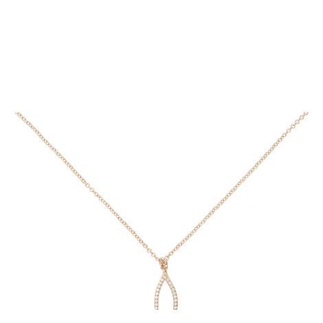 Wishbone Necklace, ${color}