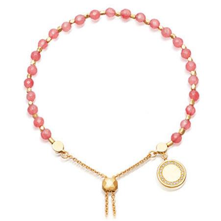 Biography Rose Quartzite Bracelet, ${color}