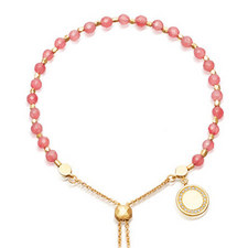 Biography Rose Quartzite Bracelet