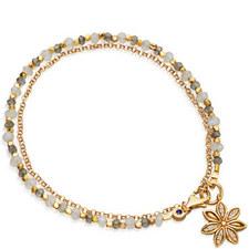 Biography Labradorite Star Anise Bracelet