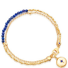 Biography Lapis Locket Bracelet