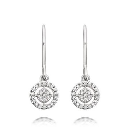 Icon Aura Drop Earrings, ${color}