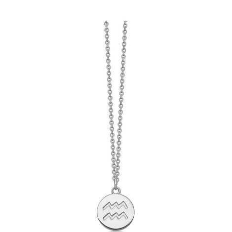 Aquarius Zodiac Pendant, ${color}