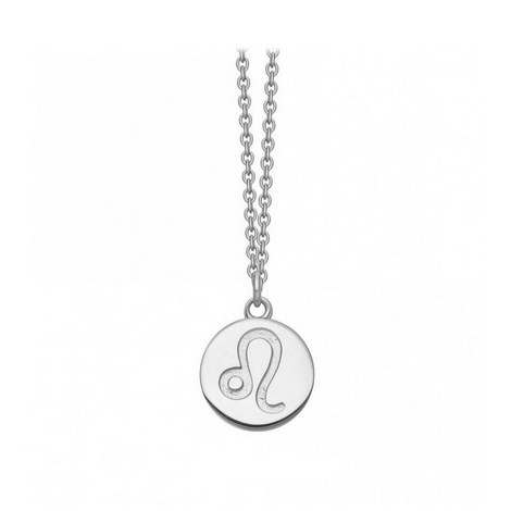 Leo Zodiac Pendant Necklace, ${color}