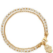 Biography Moonstone Hamza Bracelet