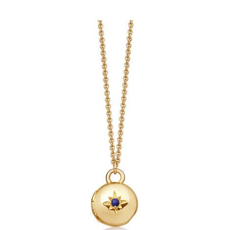 Biography Locket Necklace, ${color}