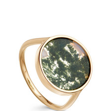 Venus Agate Gold Ring