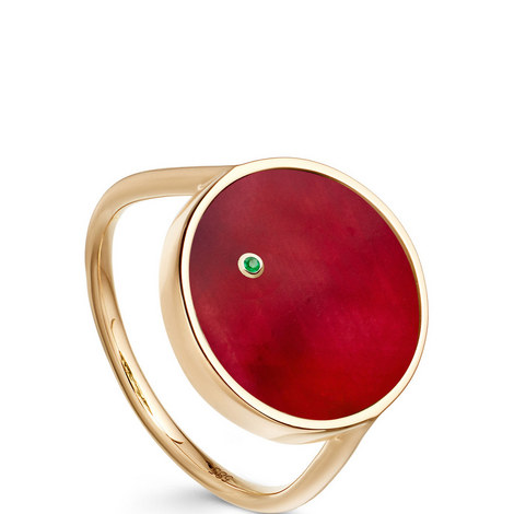 Mars Ruby Gold Ring, ${color}