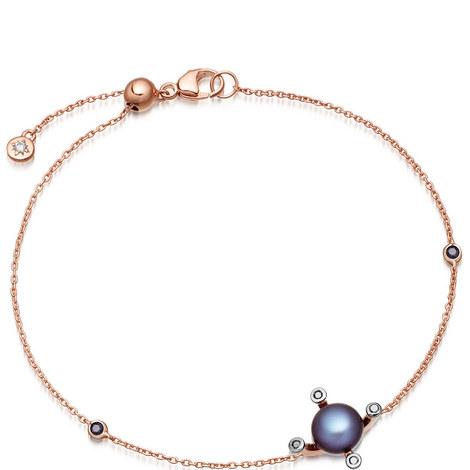 Pluto Pearl Gold Bracelet, ${color}