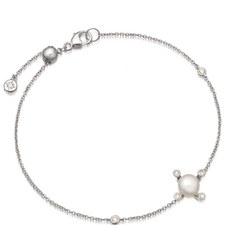 Pluto Pearl Gold Bracelet