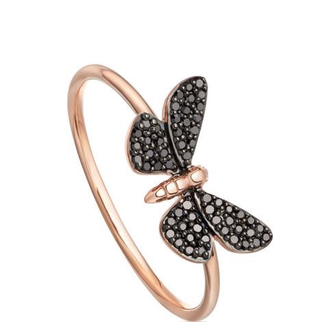 Black Diamond Moth Ring, ${color}