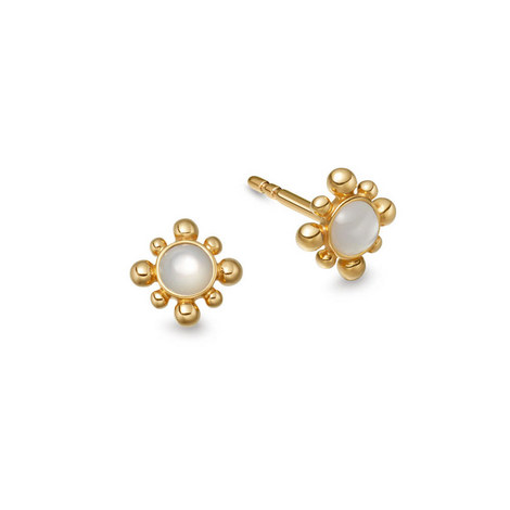 Mini Floris Opal Earrings, ${color}