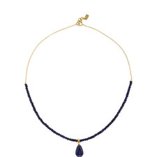Lapis & Jade Necklace