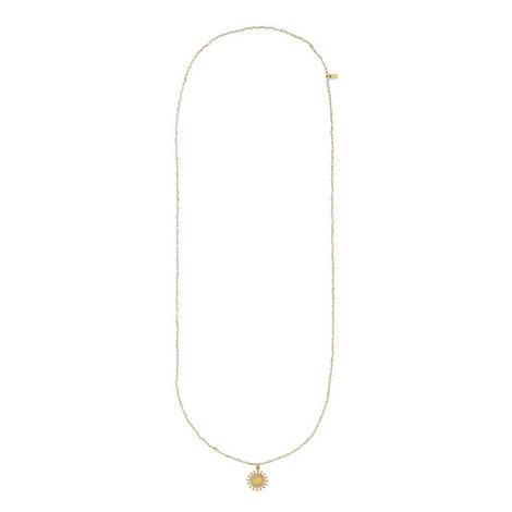 Floral Pearl Pendant Necklace, ${color}