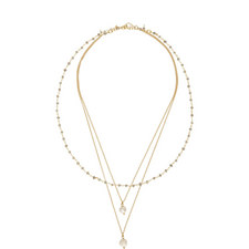 Pearl Triple Necklace