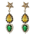 Star Drop Earrings, ${color}