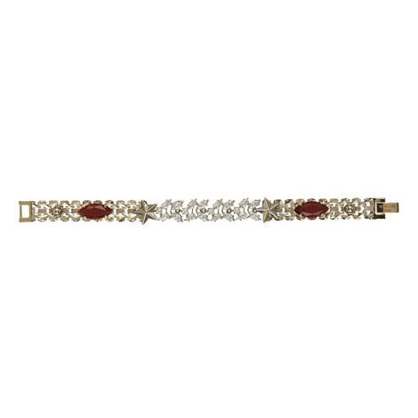 Agate & Paste Chain Bracelet, ${color}