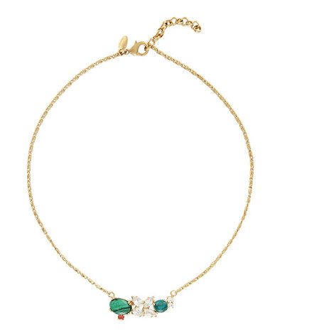 Chrysocolla and Turquoise Necklace, ${color}
