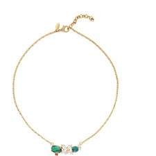 Chrysocolla and Turquoise Necklace