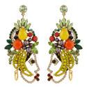 Nina Tropical Earrings, ${color}