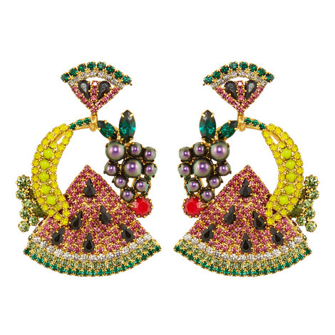 Fruit Salad Earrings, ${color}