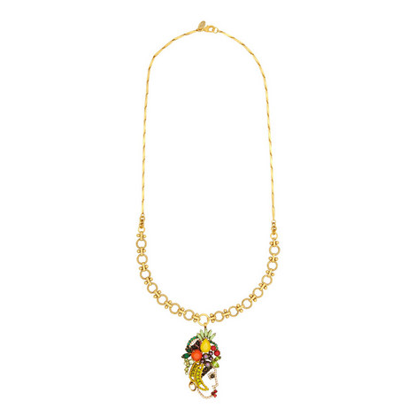 Yesenia Tropical Pendant Necklace, ${color}