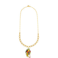 Yesenia Tropical Pendant Necklace