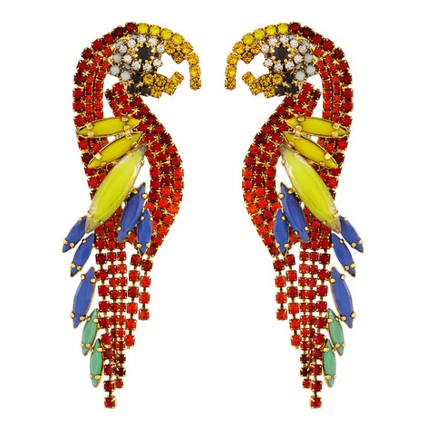 Pauly Parrot Earrings, ${color}