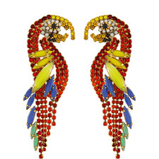 Pauly Parrot Earrings