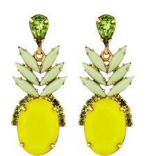 Ananas Drop Earrings