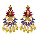 Giana Chandelier Earrings, ${color}