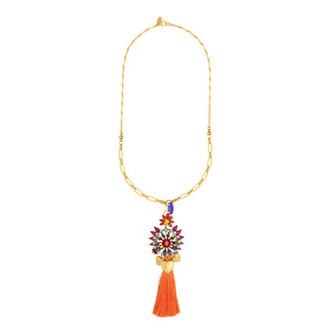 Varro Tassel Pendant Necklace, ${color}
