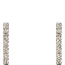 Pavé Post Earrings