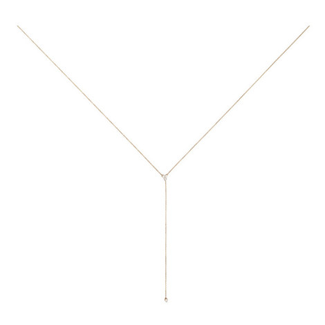 Diamond Cluster Lariat Necklace, ${color}