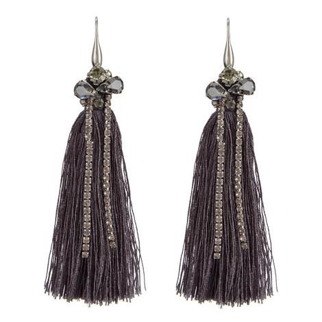 Tassel Earrings, ${color}