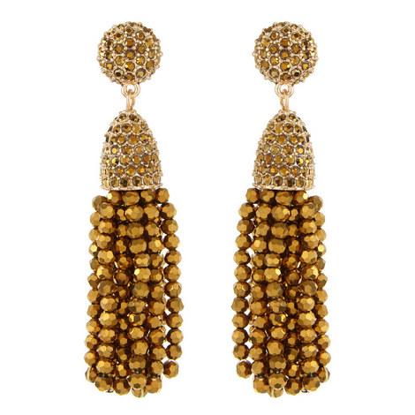 Tassel Earrings Mini, ${color}