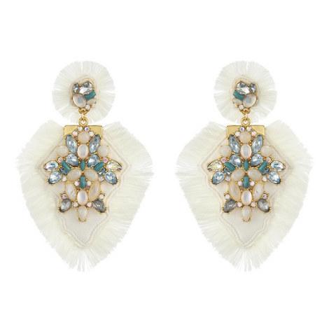 Elsa Drop Earrings, ${color}