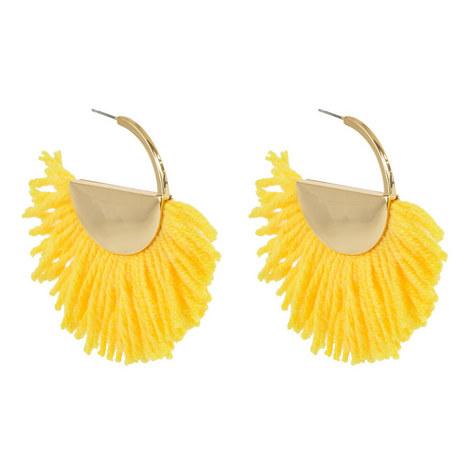 Bonita Hoop Earrings, ${color}