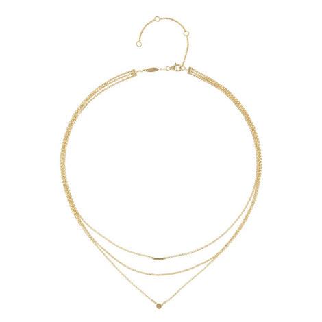 Everyday Fine Mini Disc Necklace, ${color}