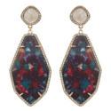 Evangelia Drop Earrings, ${color}