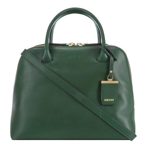 Vachetta Leather Satchel Medium, ${color}