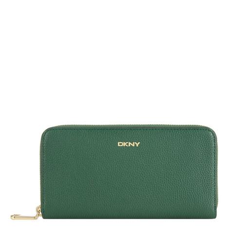 Chelsea Vintage Zip Around Wallet, ${color}