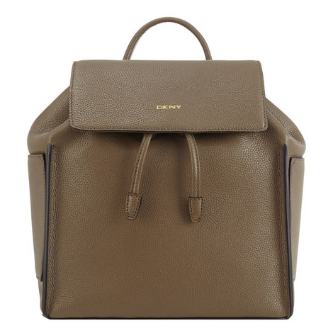 Chelsea Vintage Leather Backpack, ${color}