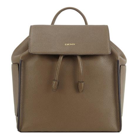 Chelsea Vintage Leather Backpack, ${color}