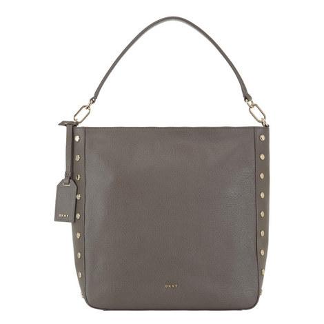 Chelsea Studded Hobo Bag, ${color}