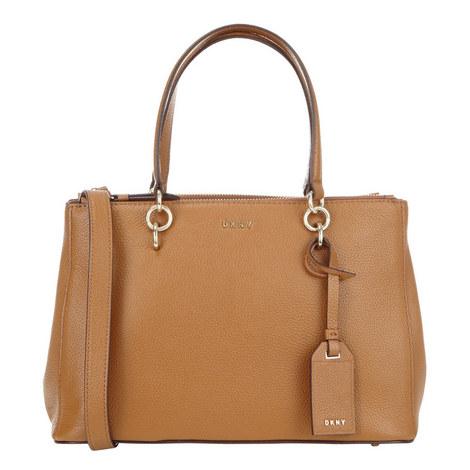 Chelsea Double Zip Shopper Bag, ${color}