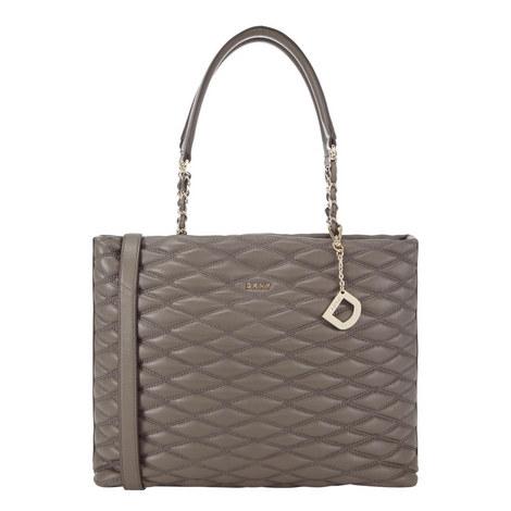 Quilted Shopper Bag Large, ${color}